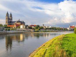 Elbansicht Magdeburg