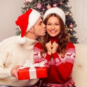 Weihnachtskuss