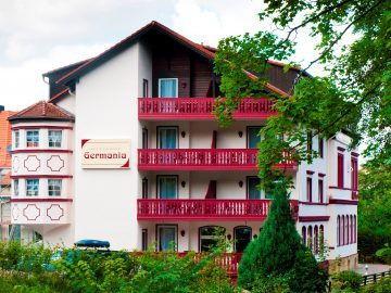 Außenansicht Regiohotel Germania Bad Harzburg
