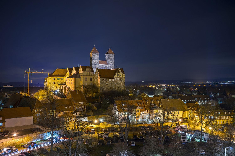 Quedlinburg bei Nacht