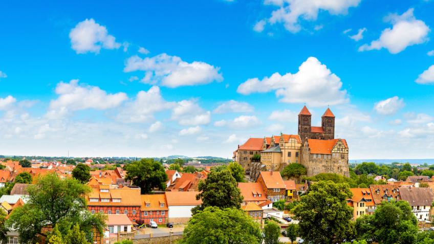 Quedlinburg Stadtansicht Harz
