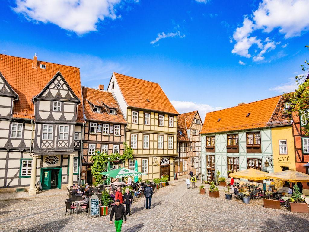 Quedlinburg am Tag