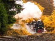 dampfende Harzer Schmalspurbahn