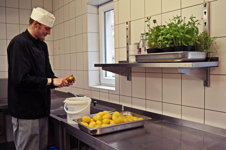 Ansicht Küche Regiohotel Schanzenhaus Wernigerode