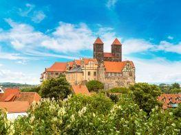 Schloss und Schlossberg in Quedlinburg