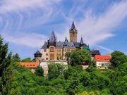 Panoramablick Schloss Wernigerode Harz