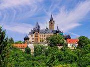 Blick auf Schloss Wernigerode Harz