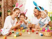 Osterfeier mit Familie Harz