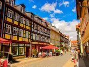 Wernigerodes Fußgängerzone Harz