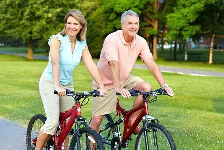 Fahrrad fahren zu Zweit Harz
