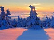 Schnee und Sonne im Harz