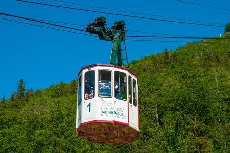 Kabine der Burgbergseilbahn Bad Harzburg