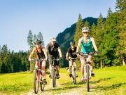 Fahrradfahren mit der Familie Harz
