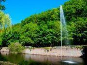 Fontäne im Kurpark Bad Harzburg