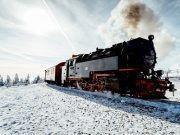 Harzer Schmalspurbahn im Schnee