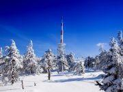 Brockengipfel im Winter