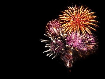 buntes Feuerwerk Regiohotel Harz