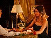 Romantik beim Abendessen