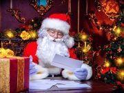Weihnachtsmann und seine Post