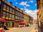 Blick in Wernigeröder Innenstadt
