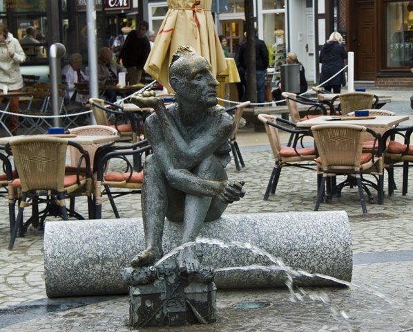 Brunnen Nicolaiplatz Wernigerode
