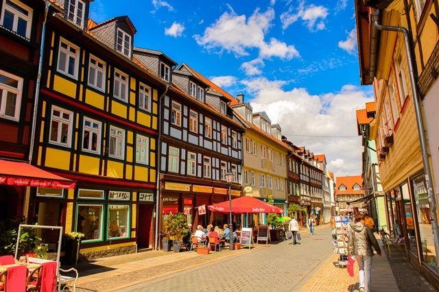 Blick in die Wernigeröder Innenstadt