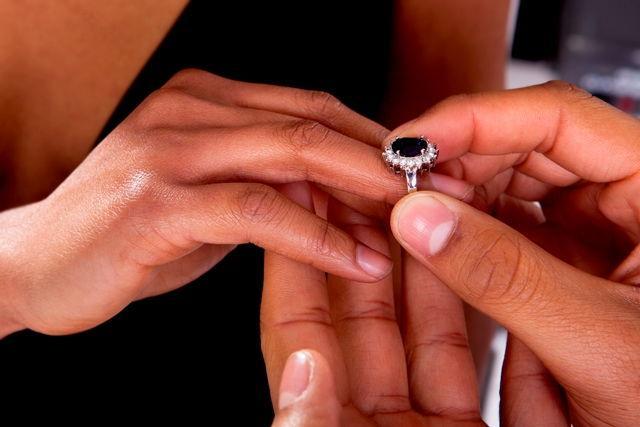Ring Verlobung Valentinstag