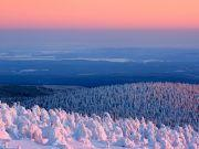 Schnee Brocken Winter Regiohotel