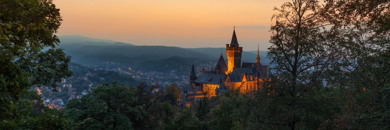 Abendstimmung Schloss Wernigerode