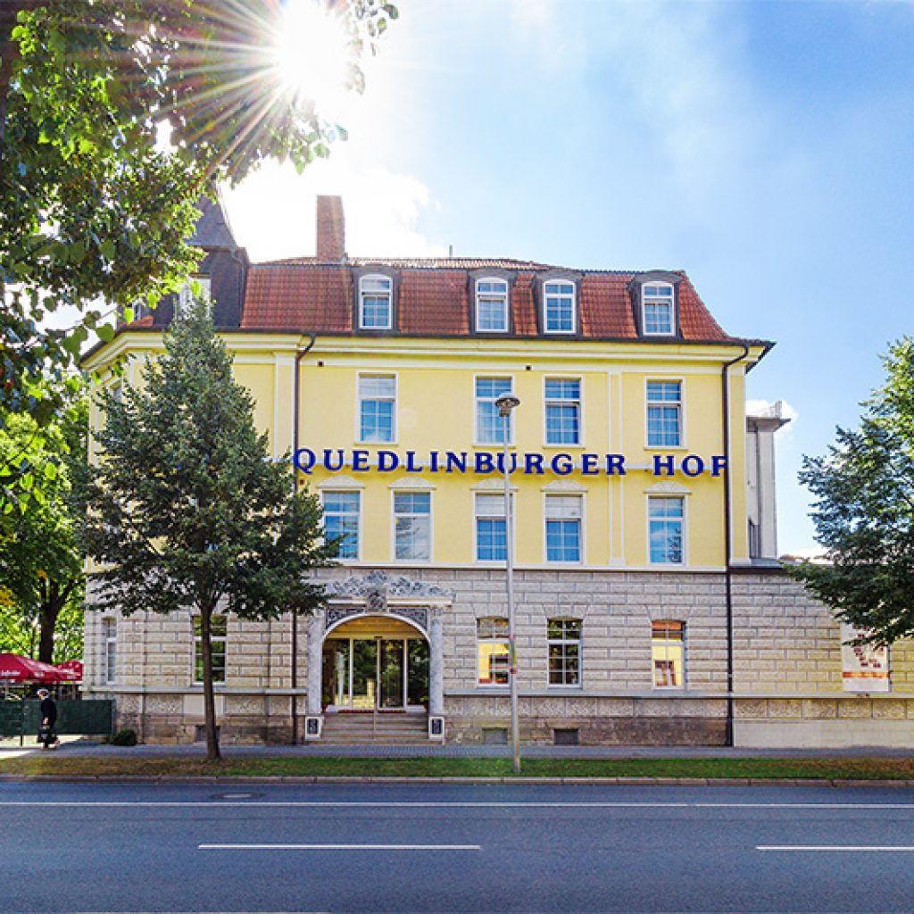 Außenansicht Regiohotel Quedlinburger Hof Quedlinburg